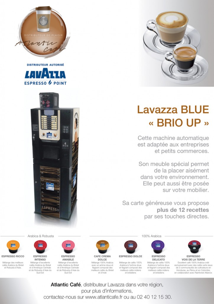 distributeur automatique lavazza nantes 44